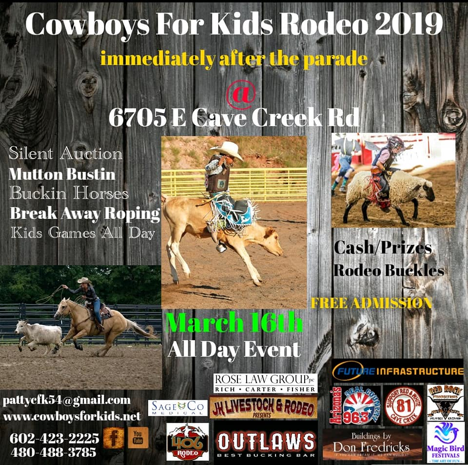 2019 Cowboys for Kids Rodeo